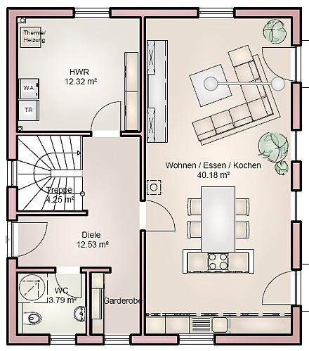 """Dasmoderne solide Einfamilienhaus ... """"myRhenoFertighaus""""-ABENHEIM"""