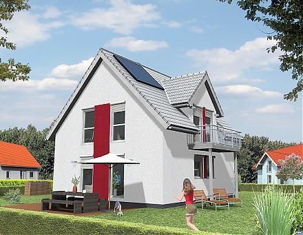 Das&nbsp;Einfamilienhaus in kompakter Ausf&uuml;hrung ... &quot;myRhenoFertighaus&quot;-HORCHHEIM <br /><br />