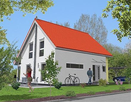 """Das kinderfreundliche Einfamilienhaus... """"myRhenoFertighaus""""-WEINSHEIM"""
