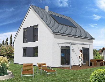 """Das gradlinige moderne Einfamilienhaus ... """"myRhenoFertighaus""""-WIESOPPENHEIM"""